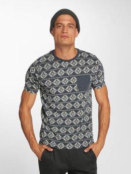 Brave Soul T-skjorter Deon blå