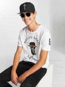 Brave Soul T-skjorter Midas hvit