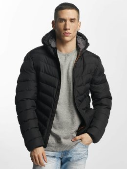 Brave Soul Talvitakit Quilted musta