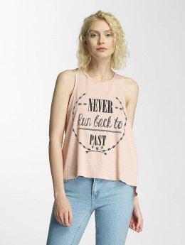 Brave Soul Tank Tops Printed rosa