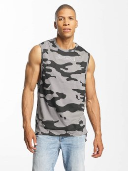 Brave Soul Tanktop Dropped Armhole camouflage
