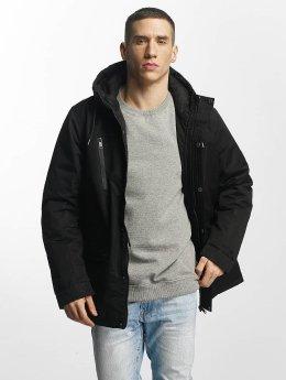 Brave Soul winterjas Brave Soul Jacket zwart