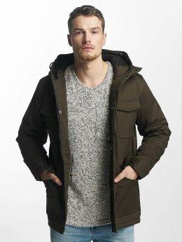 Brave Soul Zimní bundy Brave Soul Winter Jacket hnědožlutý