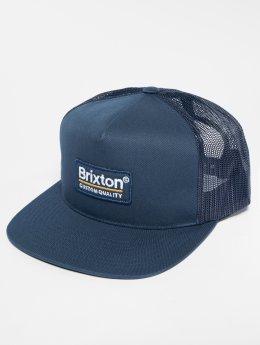 Brixton Gorra Trucker Palmer Mesh azul