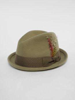 Brixton hoed Gain khaki