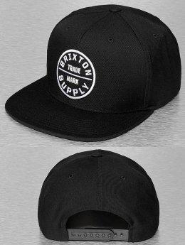 Brixton Snapback Caps Oath III musta
