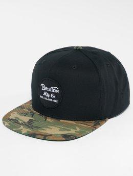 Brixton Snapback Caps Wheeler svart