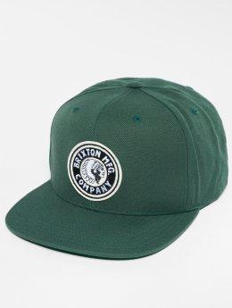 Brixton Snapback Caps Rival zielony