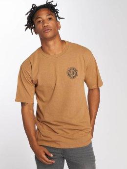 Brixton t-shirt Rival II bruin