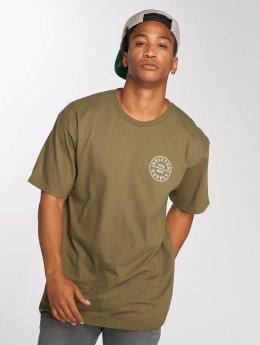 Brixton t-shirt Oath Stnd olijfgroen