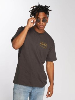 Brixton t-shirt Grade Stnd zwart