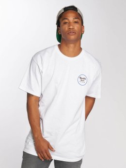 Brixton T-shirts Wheeler II hvid