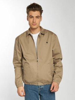 Carhartt WIP Демисезонная куртка Questa Madison коричневый
