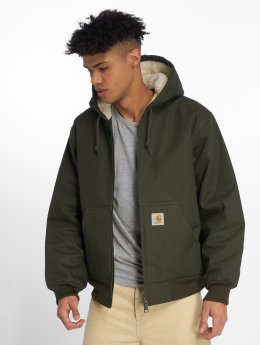 Carhartt WIP Демисезонная куртка Active Pile оливковый