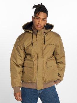 Carhartt WIP Демисезонная куртка Payton Transition хаки