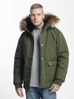 Carhartt WIP Зимняя куртка Trapper зеленый