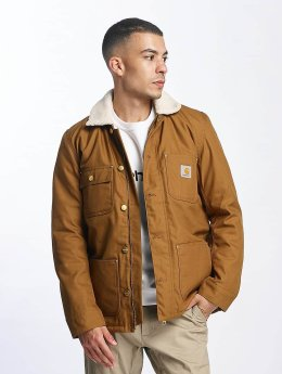 Carhartt WIP Зимняя куртка Patterson Canvas коричневый