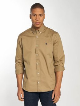 Carhartt WIP Рубашка Madison Regular Fit коричневый