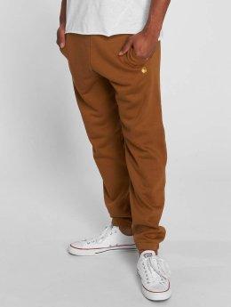 Carhartt WIP Спортивные брюки Chase Cotton/Polyester Heavy Sweat коричневый