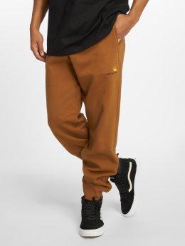 Carhartt WIP Спортивные брюки American Script коричневый