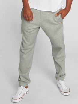 Carhartt WIP Спортивные брюки Chase Cotton/Polyester Heavy Sweat серый