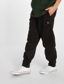 Carhartt WIP Спортивные брюки American Script черный