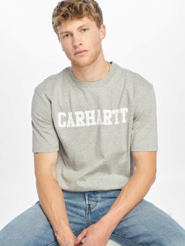 Carhartt WIP Футболка College серый