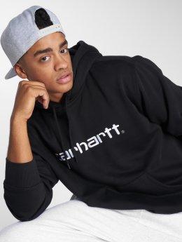 Carhartt WIP Bluzy z kapturem Carhartt czarny