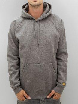 Carhartt WIP Bluzy z kapturem Chase szary