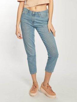 Carhartt WIP Boyfriend jeans Maverick Domino Ankle blå