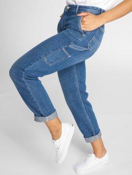 Carhartt WIP Boyfriend jeans Maverick Pierce blå