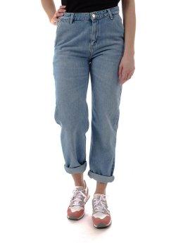 Carhartt WIP Boyfriend jeans W` Pierce blå