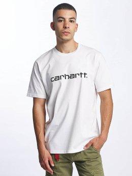 Carhartt WIP Camiseta Script blanco
