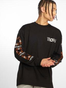 Carhartt WIP Camiseta de manga larga Trojan Boss Sounds negro