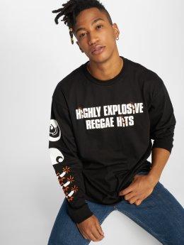 Carhartt WIP Camiseta de manga larga Trojan Explosion negro