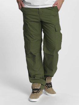 Carhartt WIP Cargo pants Columbia Regular Fit Cargo zelený