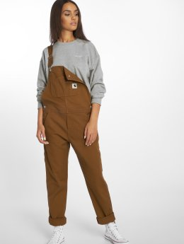 Carhartt WIP Dungaree Huron Bib brown