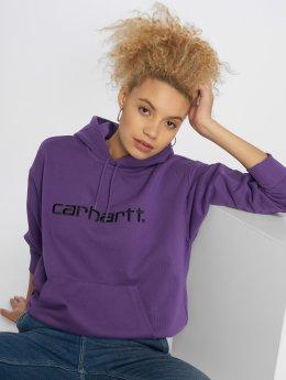 Carhartt WIP Hoodies Classico  fialový