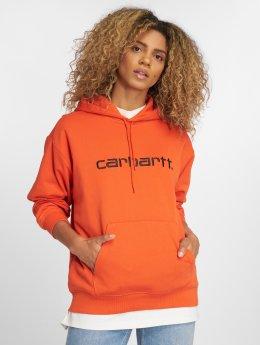 Carhartt WIP Frauen Hoody Classico in orange