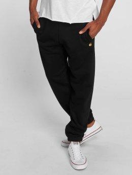 Carhartt WIP Joggingbyxor Chase Cotton/Polyester Heavy Sweat svart