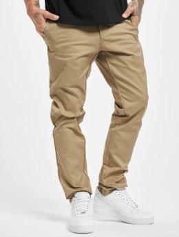 Carhartt WIP Látkové kalhoty Lamar Super Slim Fit Sid Chino béžový