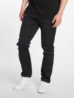 Carhartt WIP Látkové kalhoty Sid modrý