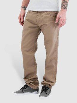 Carhartt WIP Løstsittende bukser Cortez Slim Fit Skill beige