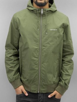 Carhartt WIP Lightweight Jacket Marsh Cotton Poplin green