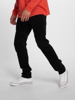 Carhartt WIP Manšestrové kalhoty Klondike Straight Fit čern