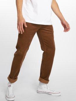 Carhartt WIP Menčestrové nohavice  Klondike hnedá