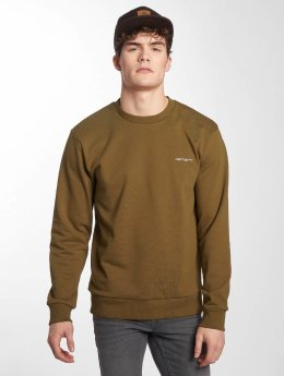 Carhartt WIP Pullover Script Embroidery brown