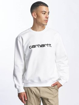 Carhartt WIP Pullover frequenzy weiß
