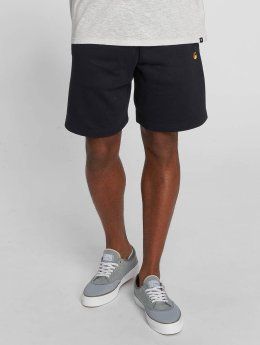 Carhartt WIP Shorts Chase Cotton/Polyester Heavy Sweat blau