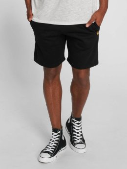Carhartt WIP Shorts Chase Cotton/Polyester Heavy Sweat schwarz